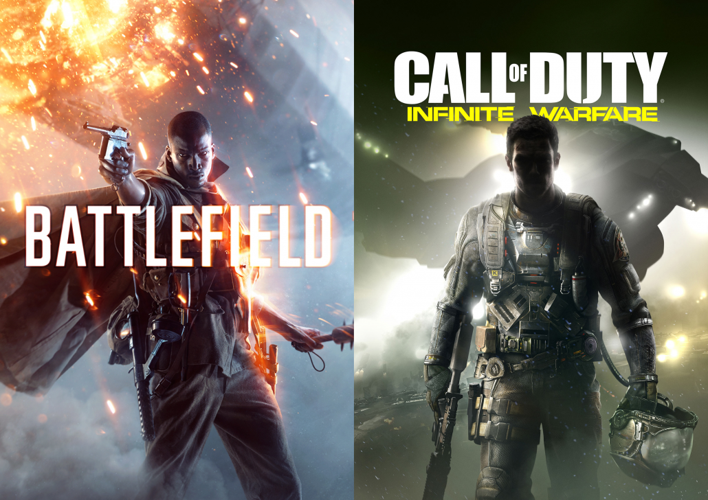 Battlefield vs Call of Duty